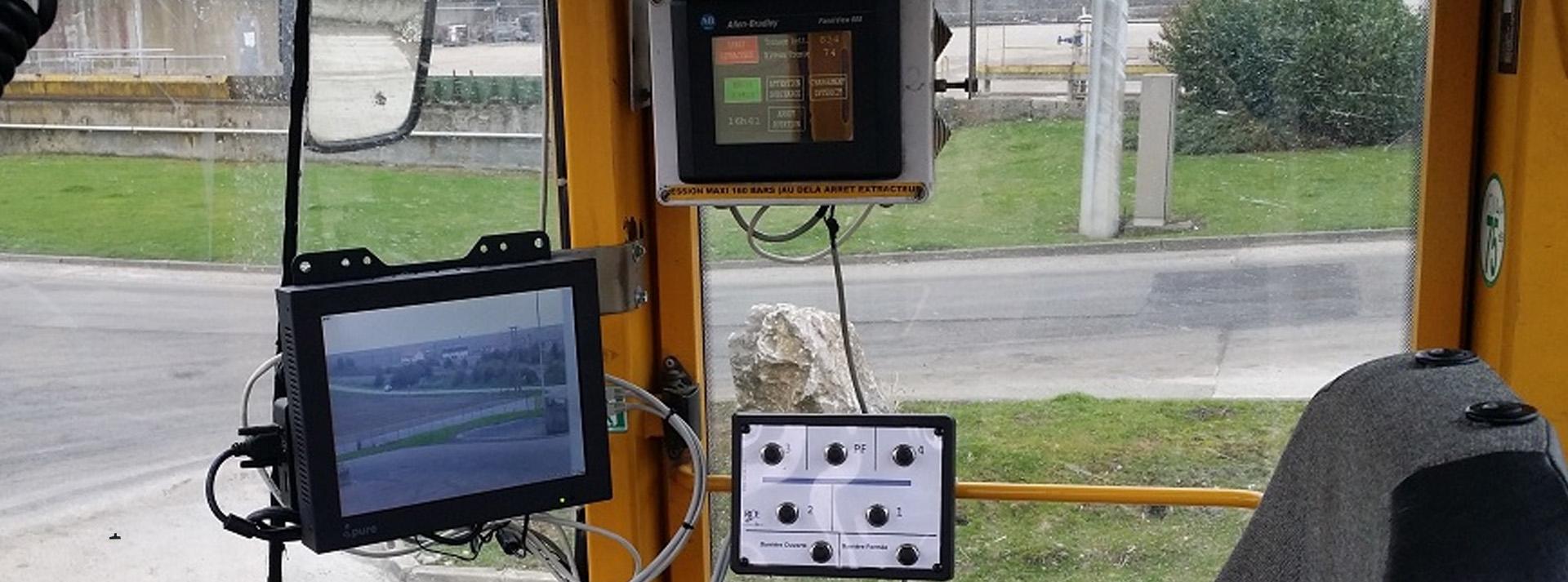 Système de contrôle vidéosurveillance RCE