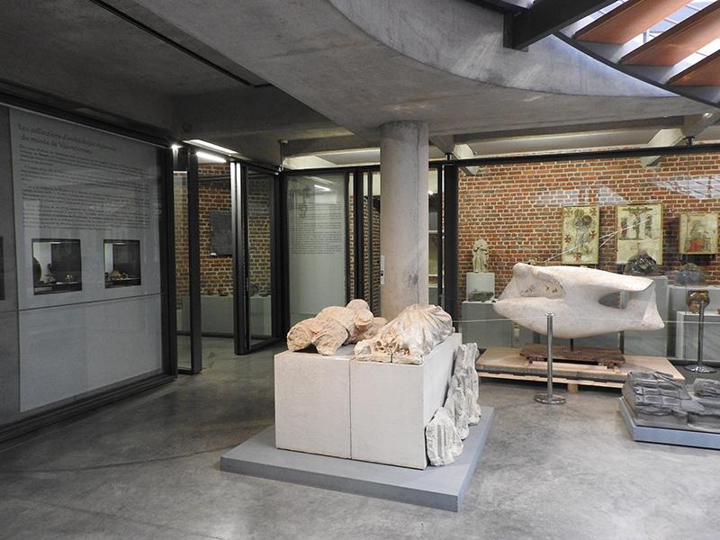 Installation vidéosurveillance musée Valenciennes