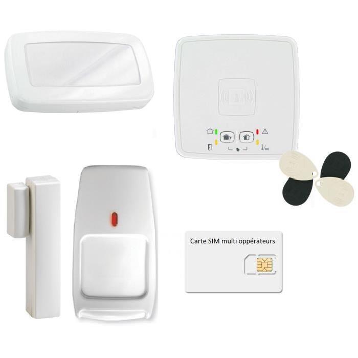 alarme intrusion sans fil interesting alarme maison sans fil gsm with alarme intrusion sans fil. Black Bedroom Furniture Sets. Home Design Ideas