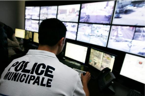 Vidéosurveillance reliée aux forces de l'ordre