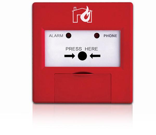 Incendie bouton d'urgence