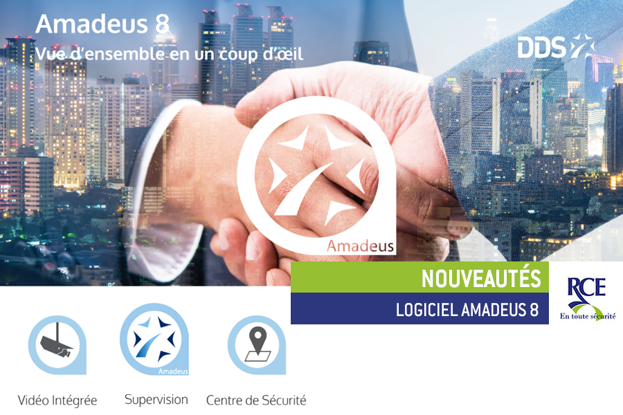 Contrôle d'accès : la nouvelle version d'Amadeus 8
