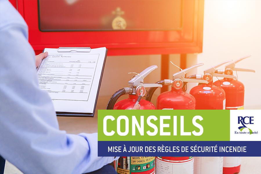 Mise à jour des règles de sécurité incendie des magasins