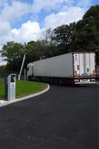 Gestion des accès des camions sur un site industriel