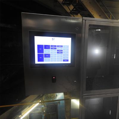 Interface casiers sécurisées RCE