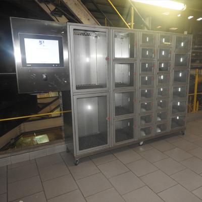 Solution de casiers sécurisés par RCE