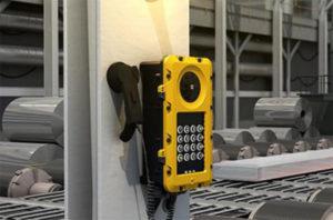 Installation d'interphone industriel IP SIP
